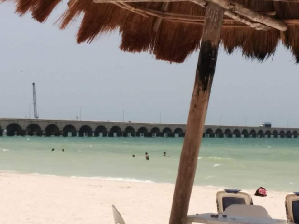 cruise ship pier in Progreso - day trips from Merida