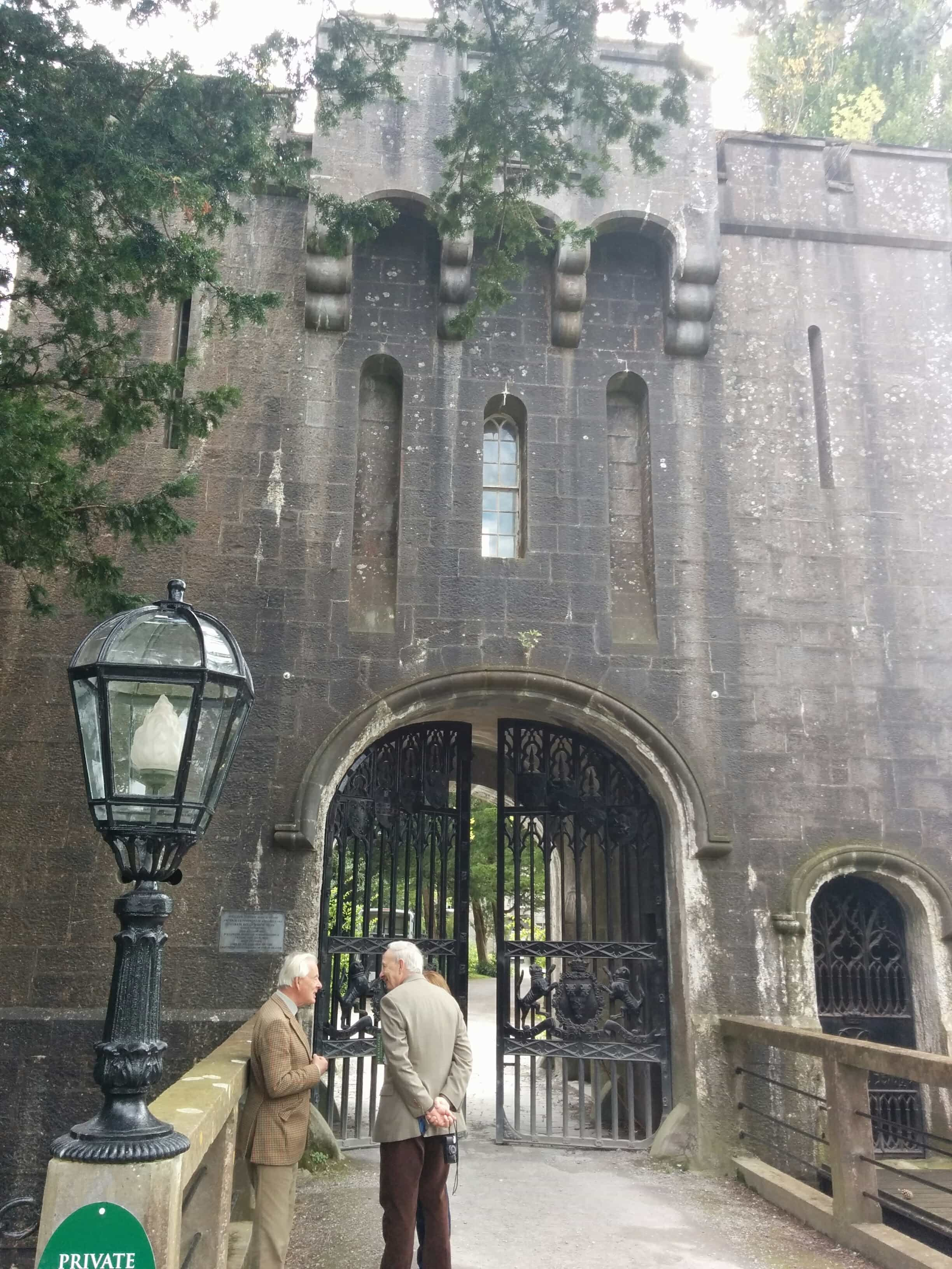 Visiting the distinguished Birr Castle in Ireland
