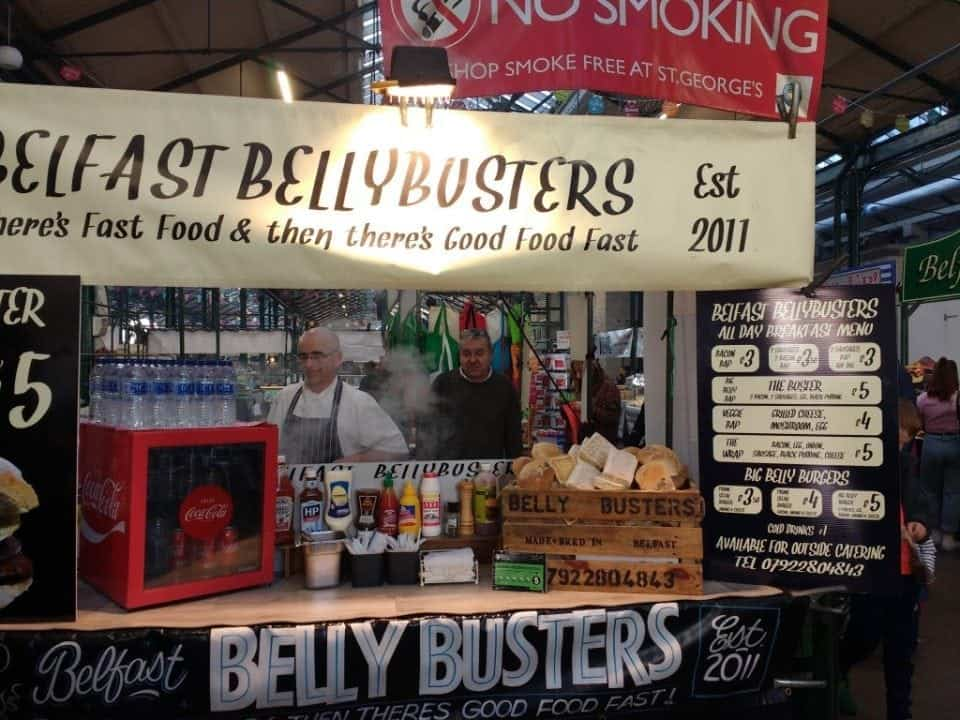 Belfast Bellybusters at St. George's Market