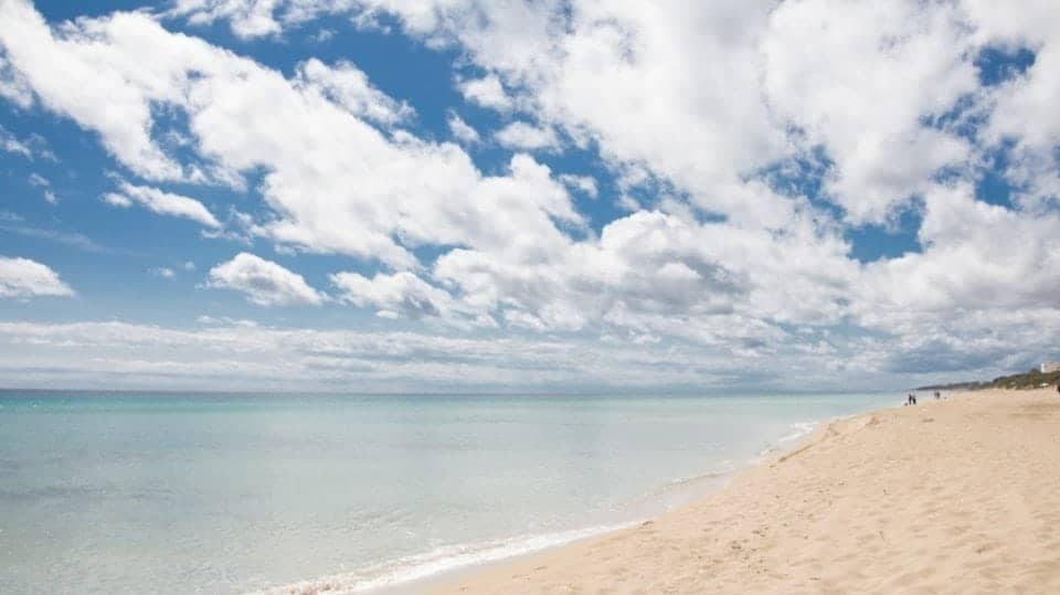 beautiful beaches in Cuba