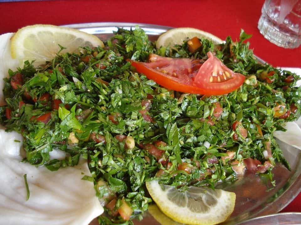 tabbouleh a traditional food of Cyprus