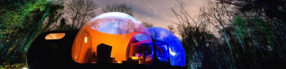 bubble domes to stay in Ireland