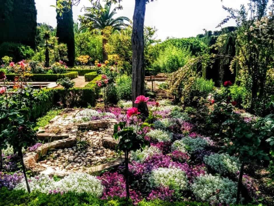 Generalife Gardens Granada Spain the Alhambra