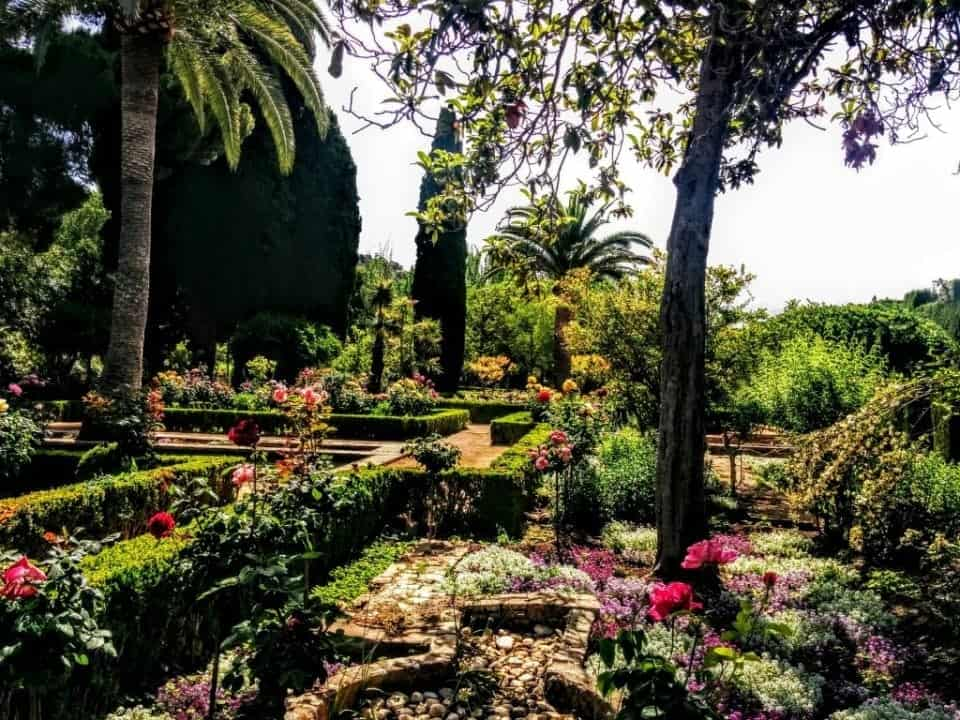 Generallife Gardens Granada Spain