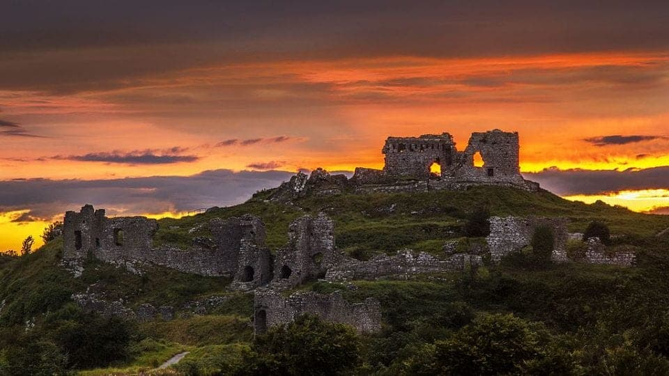 Rock_of_Dunamase_Sunset