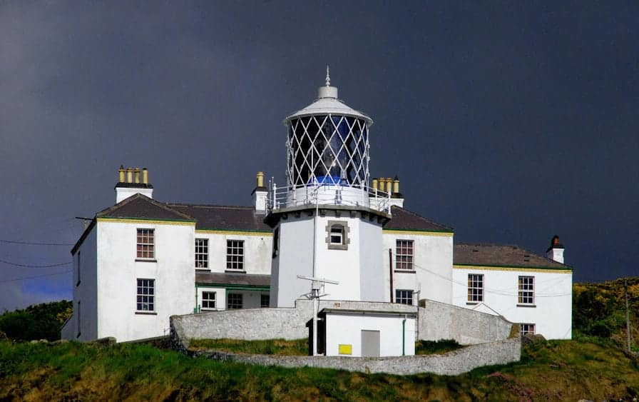 great lighthouses to stay at in Ireland