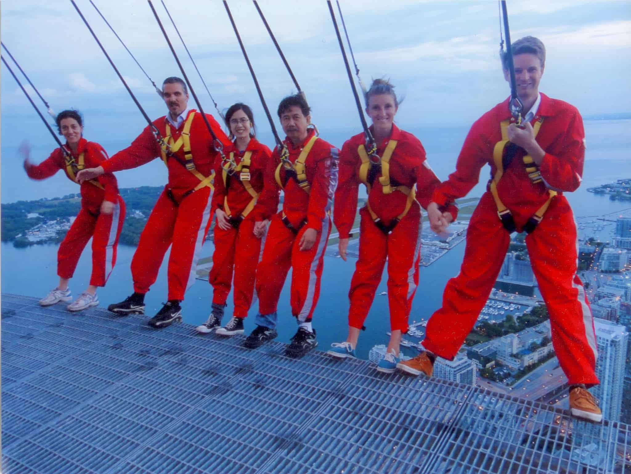 The edgewalk in Toronto top 11 must things to experience in Toronto