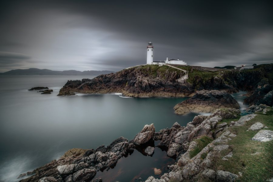 Fanad Head lighthouse in Ireland