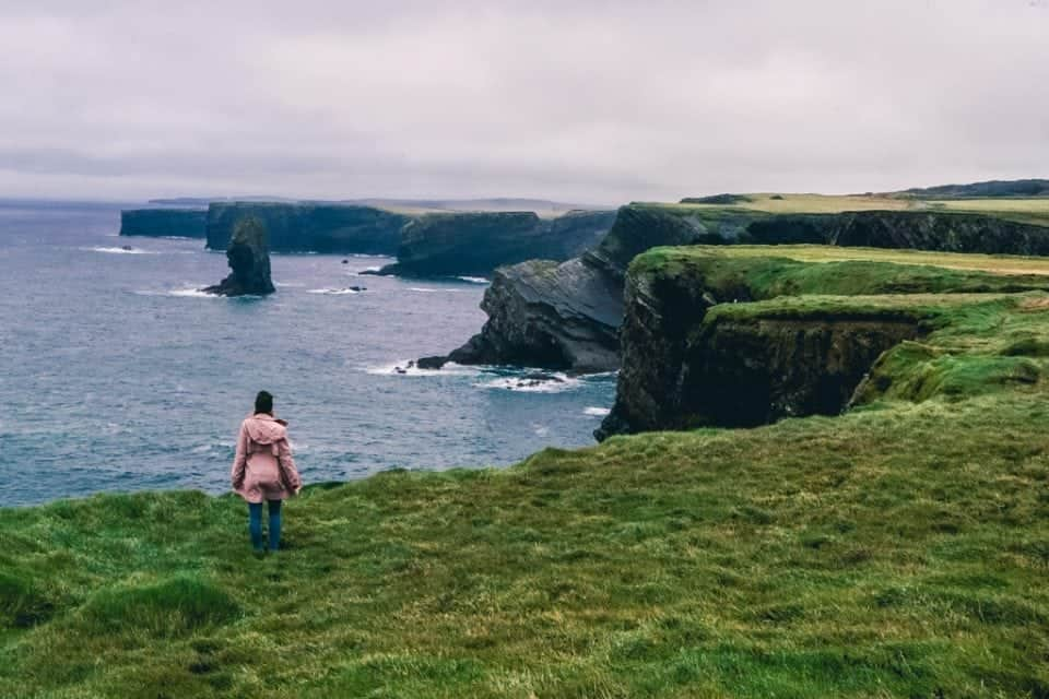 the Cliffs of Kilkee beat out the Cliffs of Moher every day another must see in Ireland