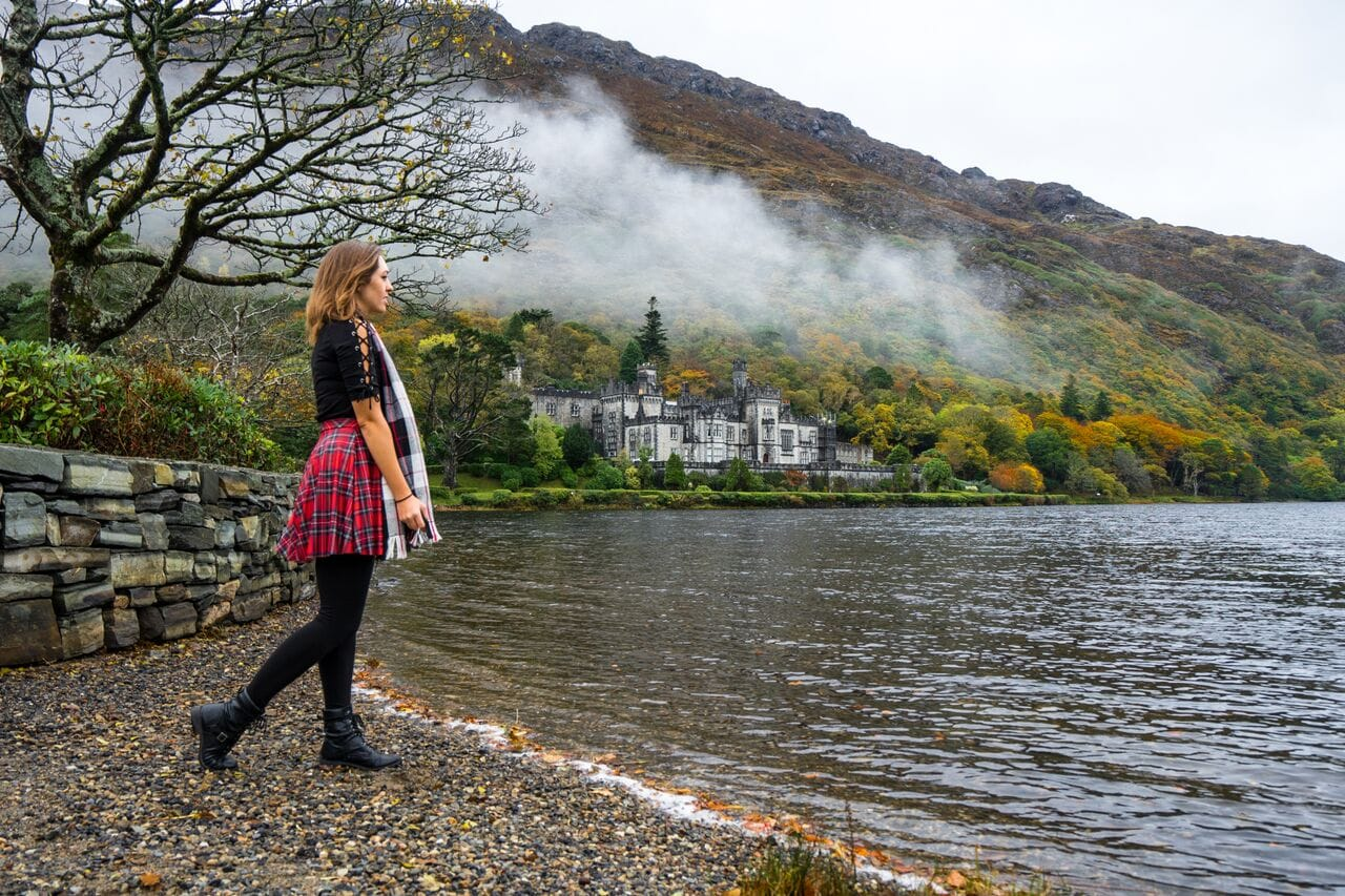 Kylemore Abbey bucket list locations for Ireland
