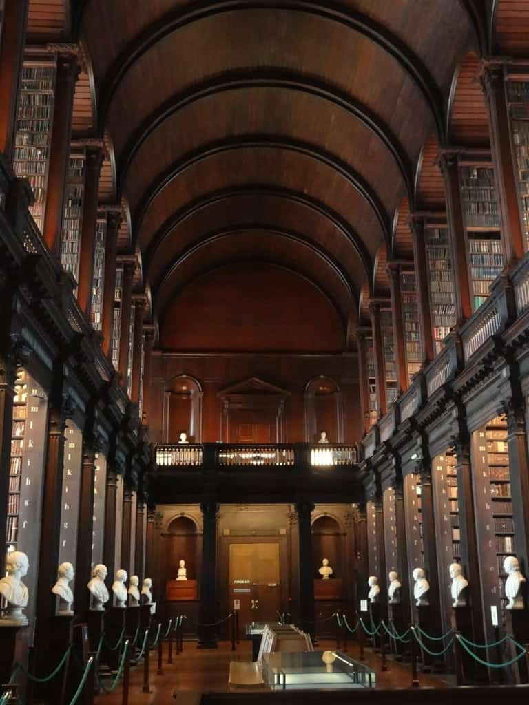 Trinity Library 7 days in Ireland - Ultimate Dublin to Waterford Itinerary