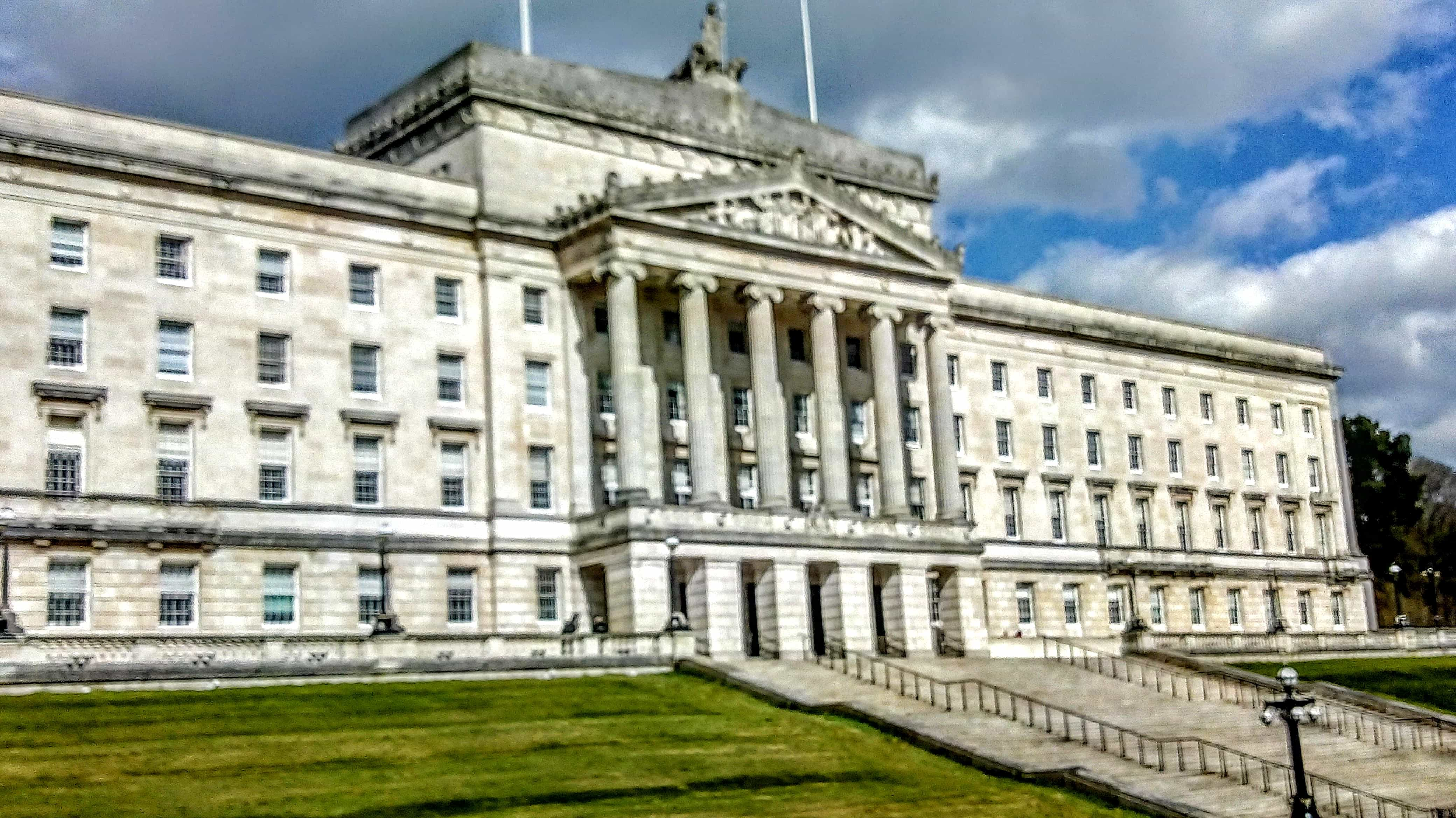 Stormont parliament buildings Belfast