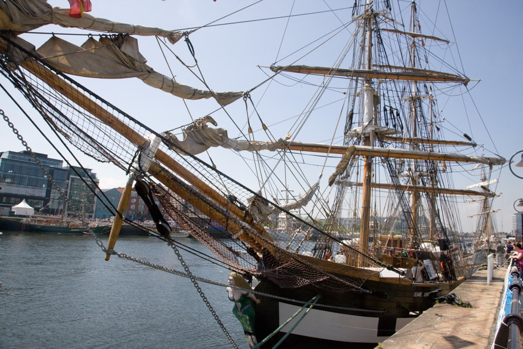 the Jeanie famine ship is another things to do in Dublin