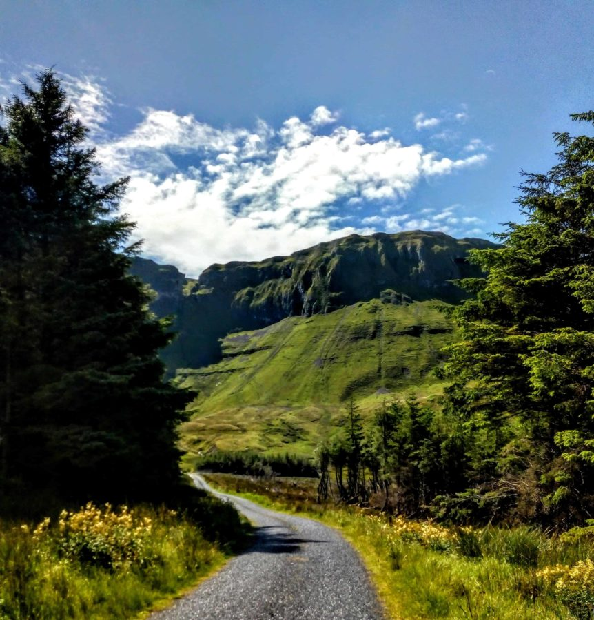 the Glenariff drive in Sligo another great must see when in Ireland