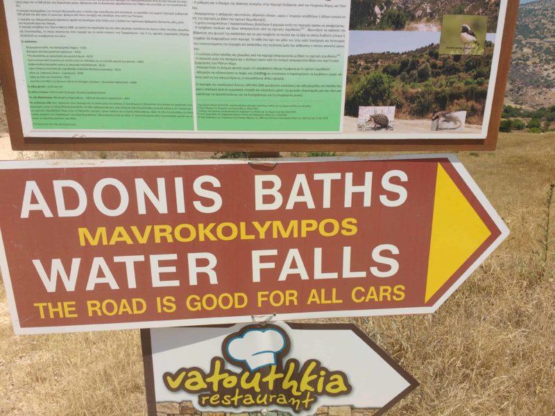 Adonis Baths Paphos Cyprus