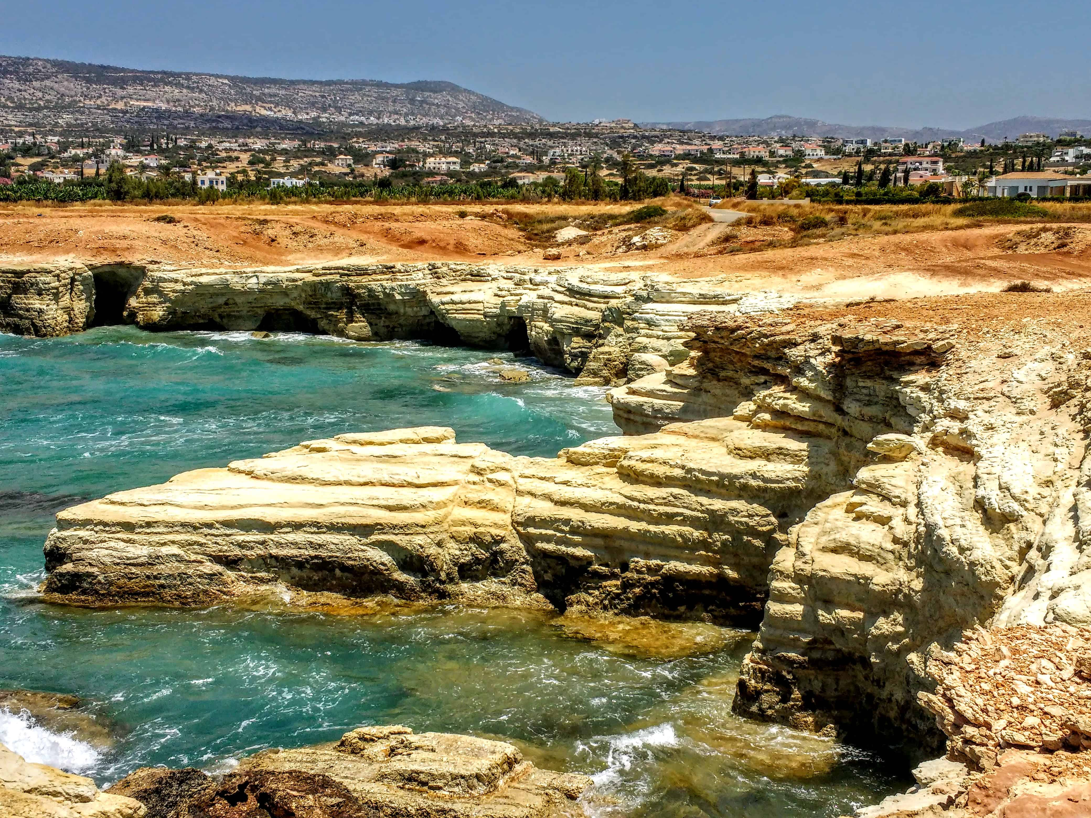 what to do in Paphos Cyprus go and see the caves