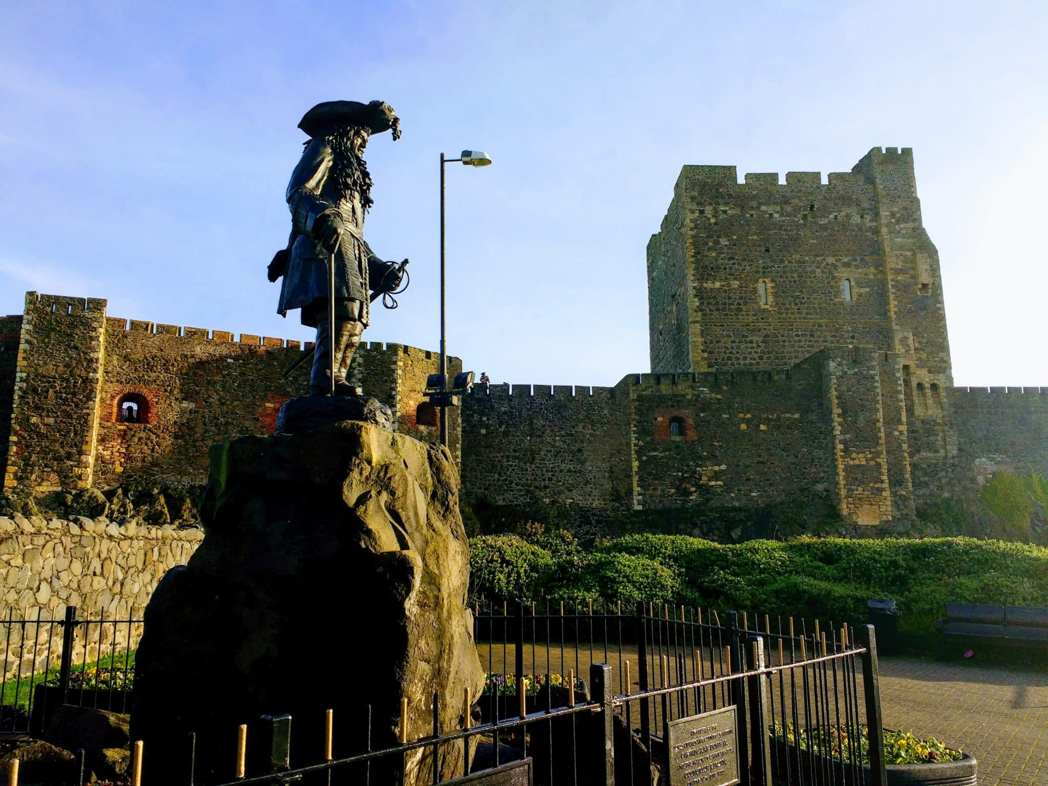 Carrickfergus on the Causeway Coastal route of northern Irelnad