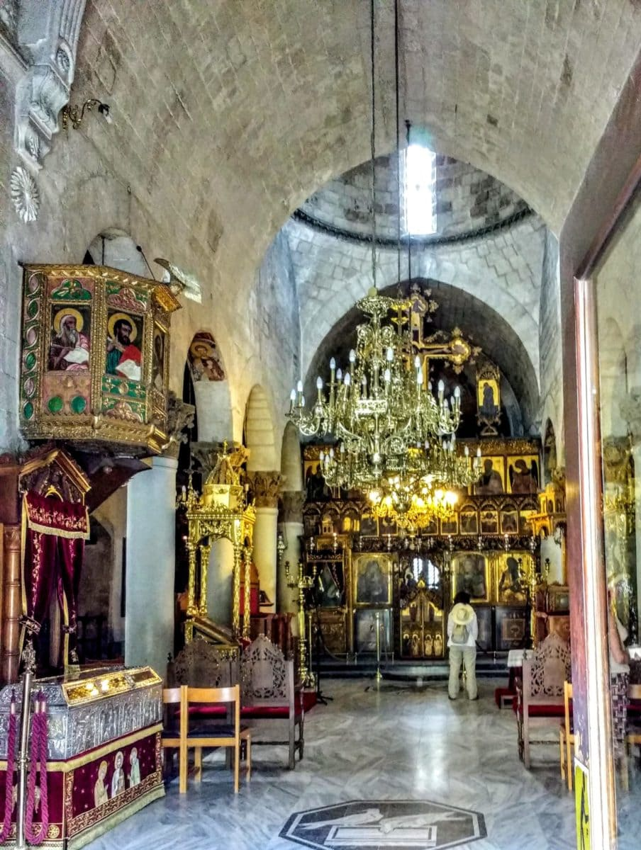 chapel in the Monastery of Cyprus
