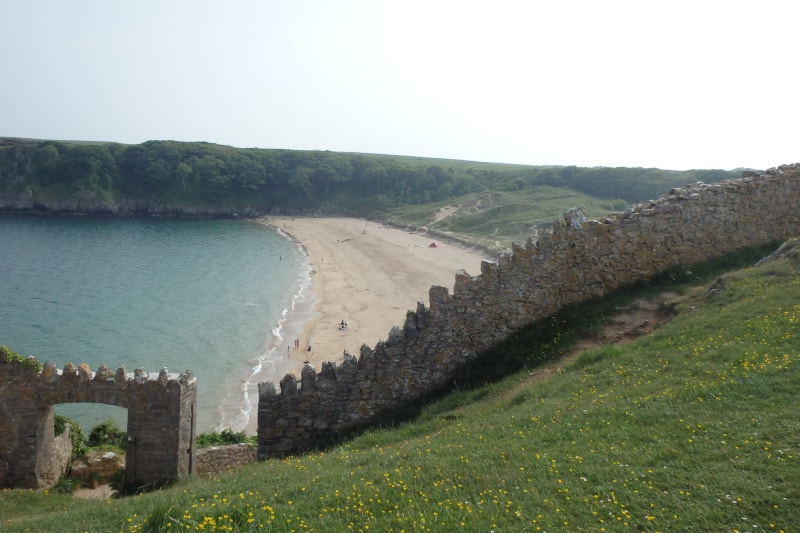 beautiful beaches of Pembrokeshire Wales