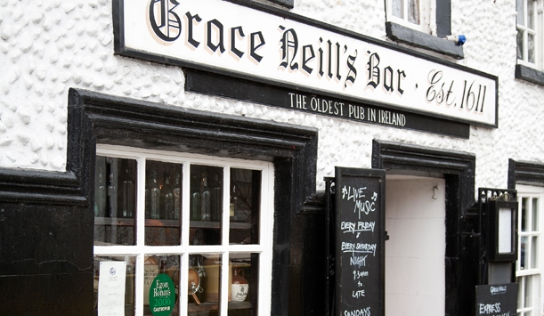 celebrating Halloween in Ireland at the most haunted pub