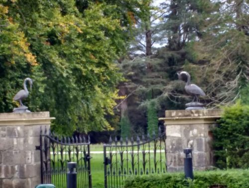 gates to Lough Eske Castle Hotel