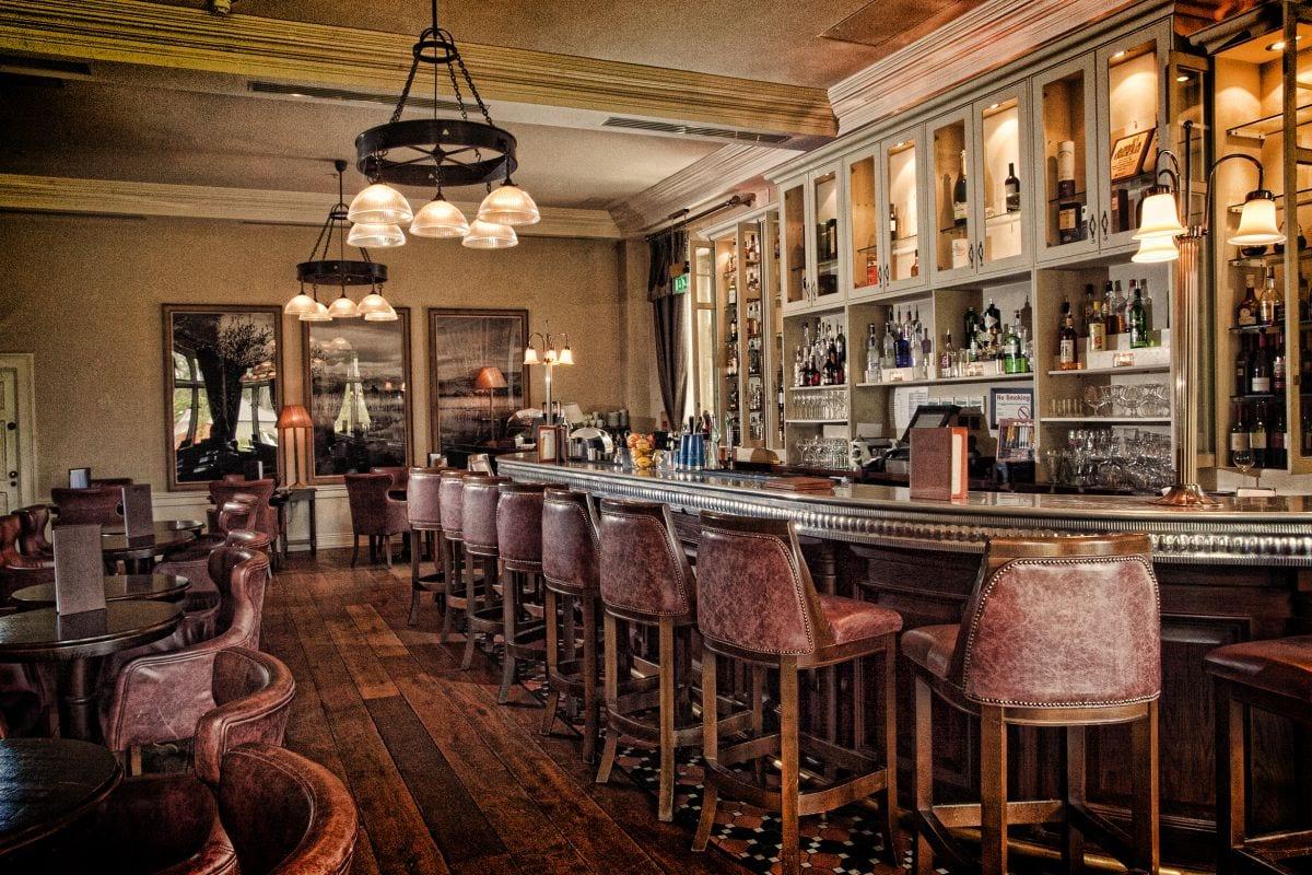 bar in Lough Eske Castle Hotel