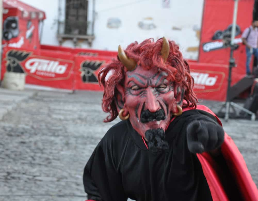 Christmas celebrations is Guatemala's Dia del Diablo,
