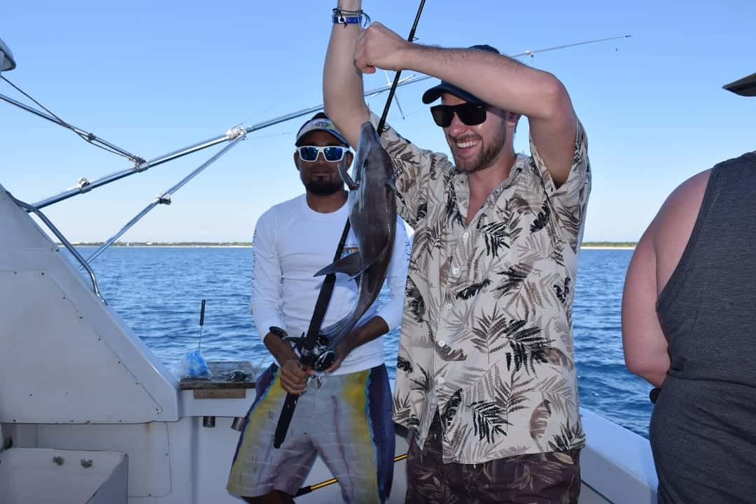 fishing and actually catching a fish is one of the top-six-things-to-do-in-mexicos-yucatan-peninsula