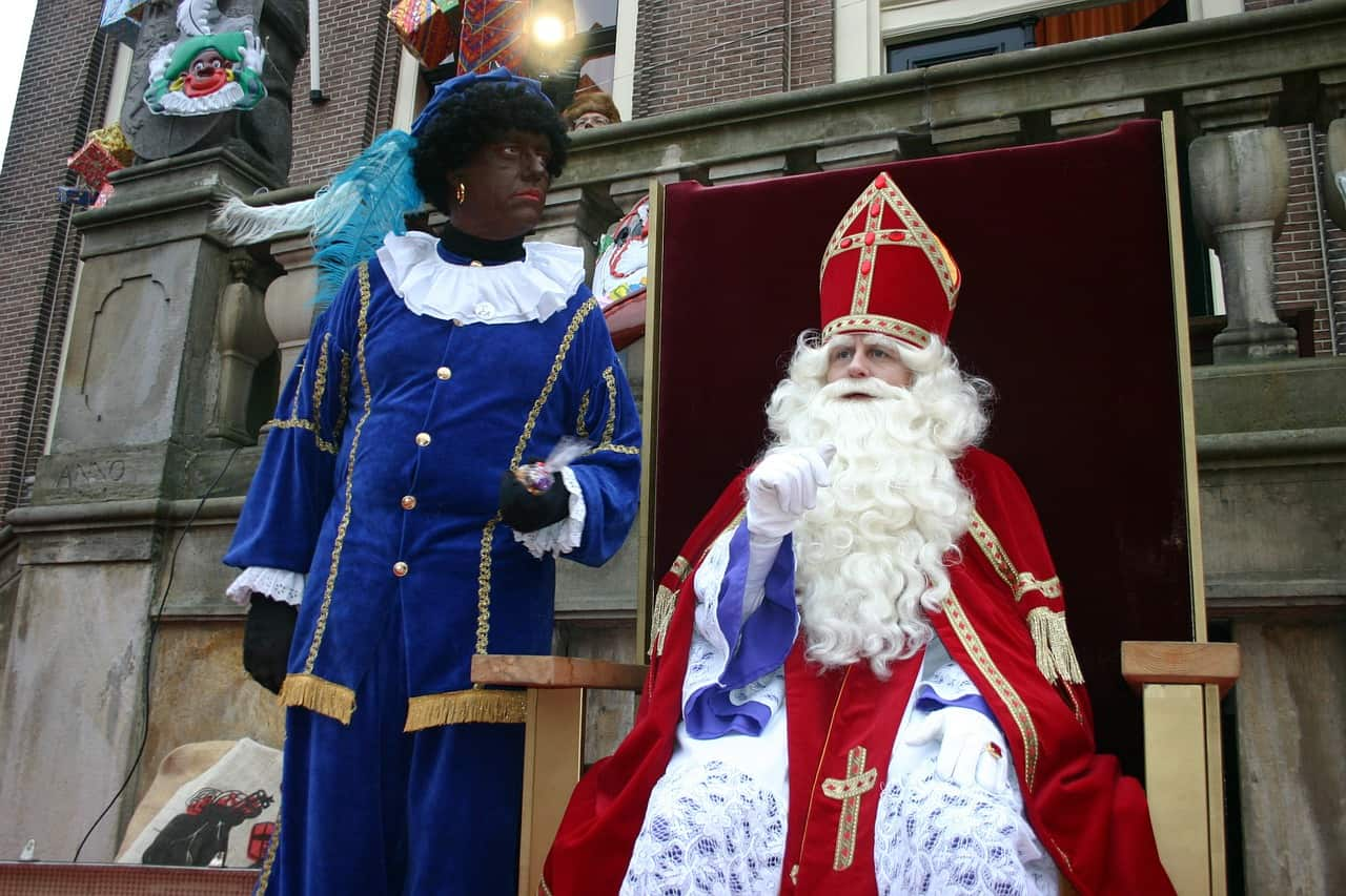 Zwarte Piet has traditionally been a part of most Dutch and Belgian holiday celebrations