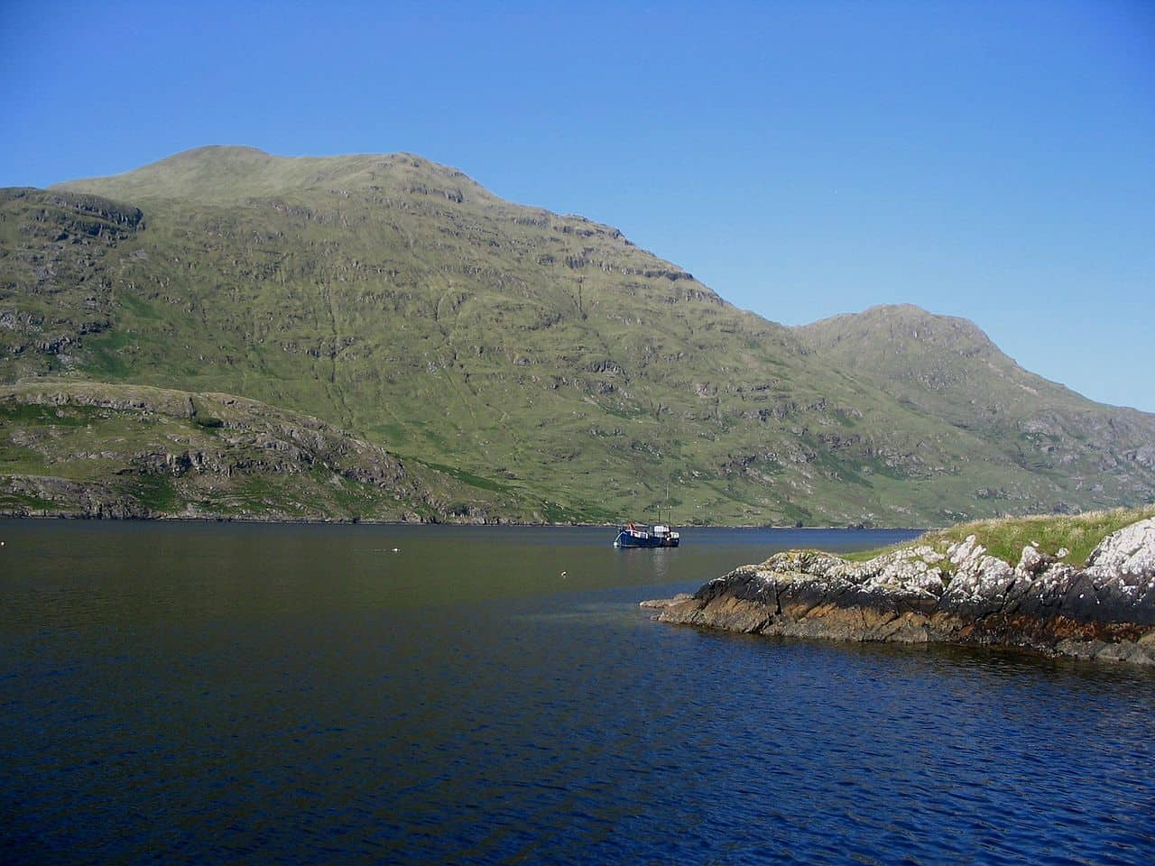 boat trip on the Killary Fjord
