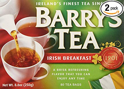 a box of Barrys Tea in my Irish gift guide