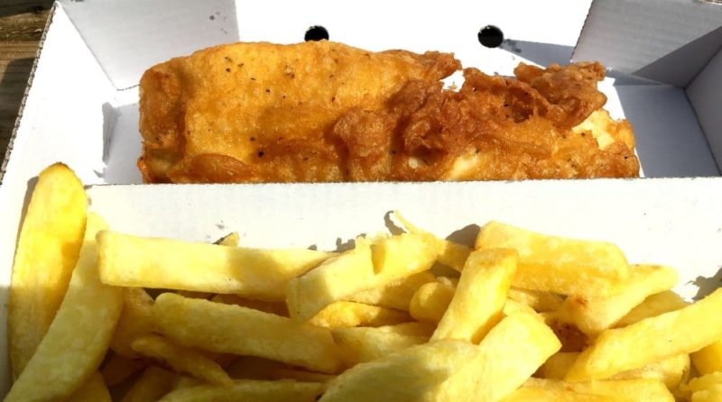 seaside vacations in Britain Ullapool, Scotland the best fish and chips ever
