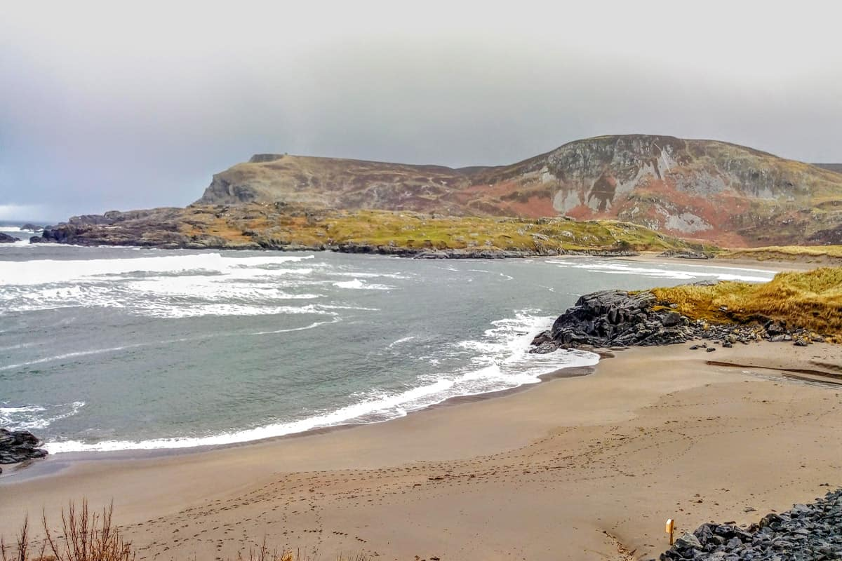 Glen bay beach is a smaller beach in Glencolmcille, perfect for families and children in a sheltered bay