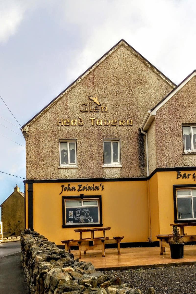 the local pub in Glencolmcille
