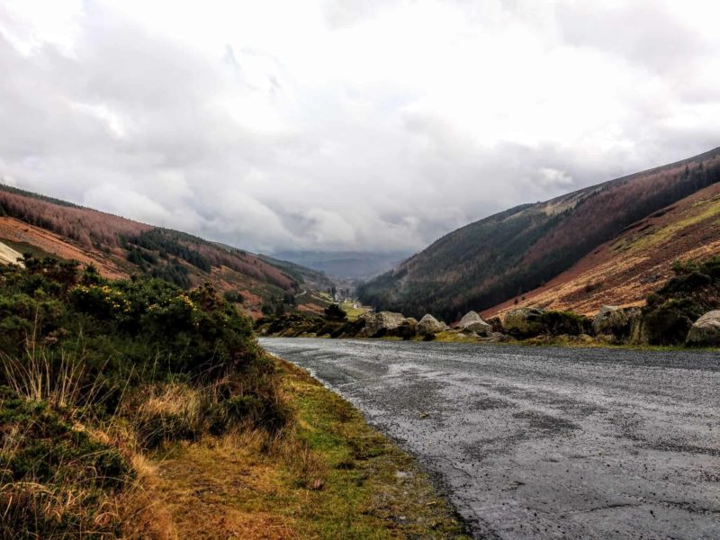Viking wars and battles are filmed here in the Wicklow Mountains