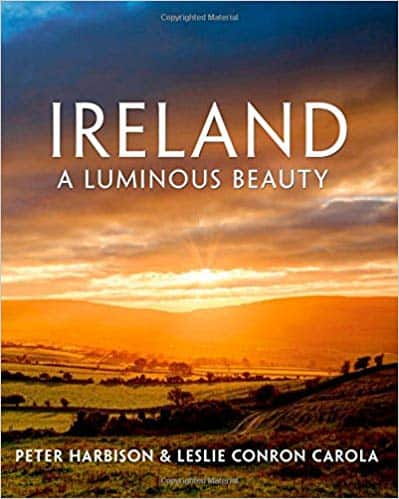 a book with a beautful Irish sunset Ireland a Luminous beauty