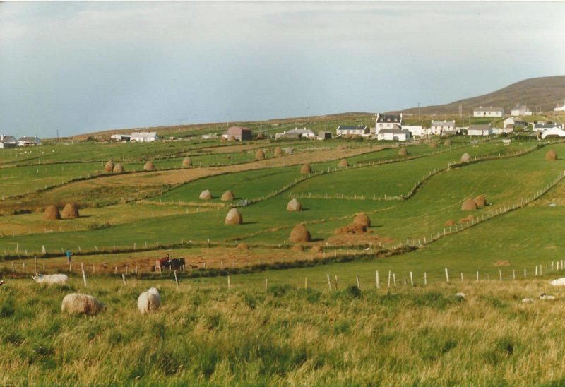 a view of the hills of Glencolmcille