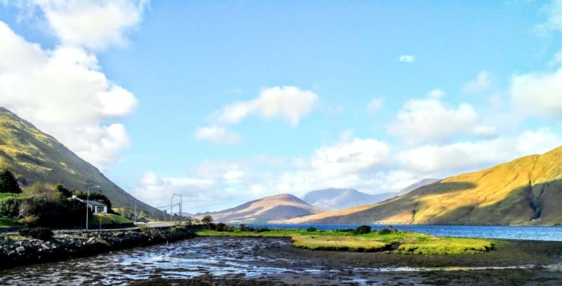 Do you know the Killary Fjord in Ireland magnificent views of the mountains of Connemara