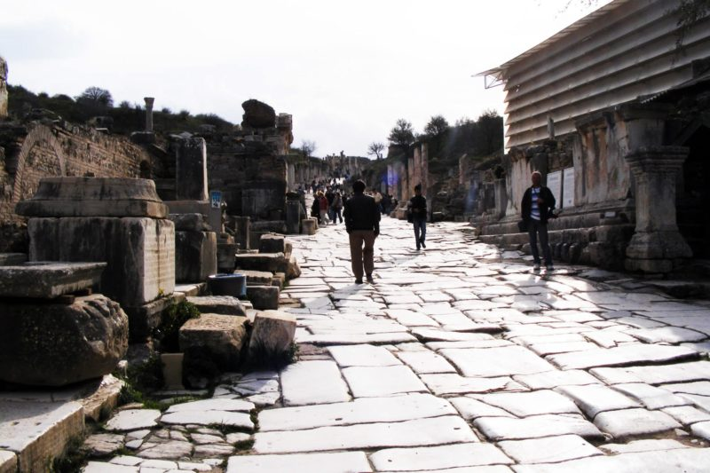 Visiting Ephesus the most awe-inspiring site in Turkey