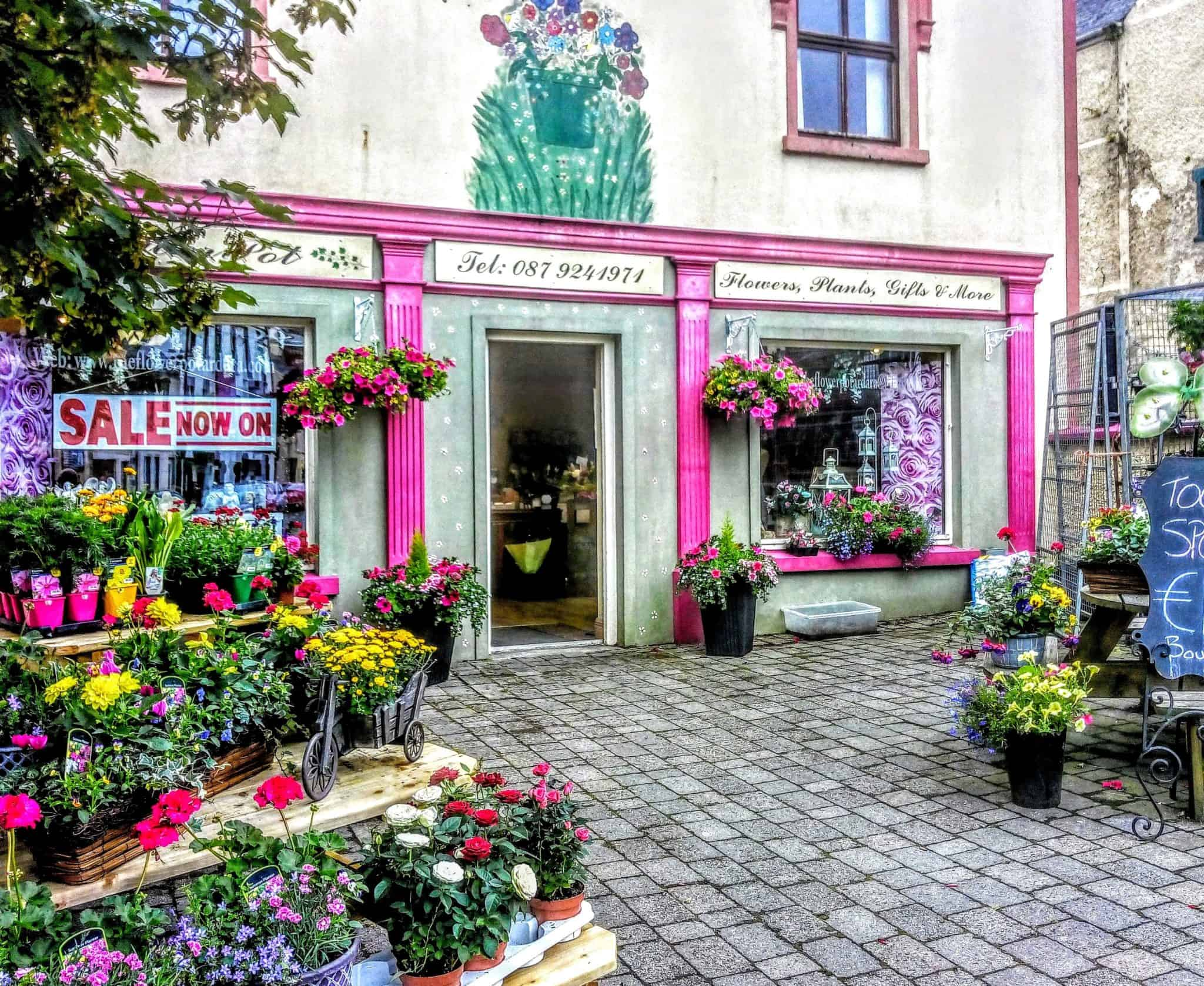Adara Co. Donegal Ireland a beautiful flower shop