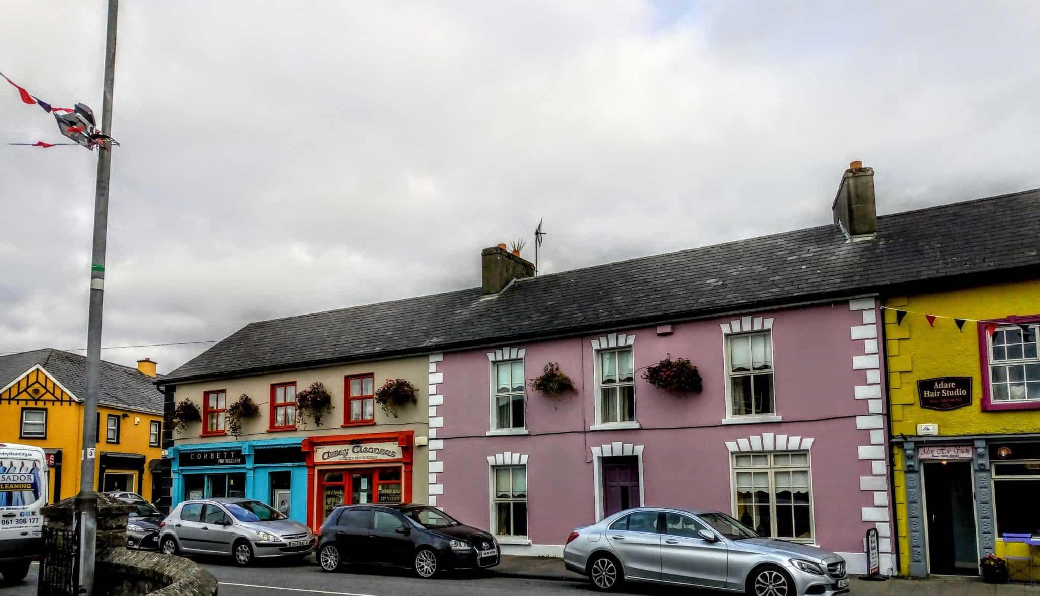 main street Adare Ireland