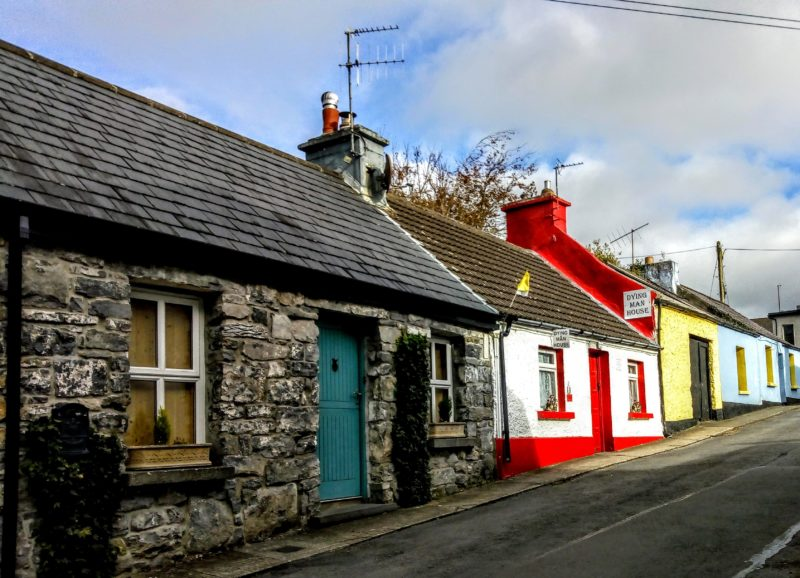 villages houses in Cong, Ireland