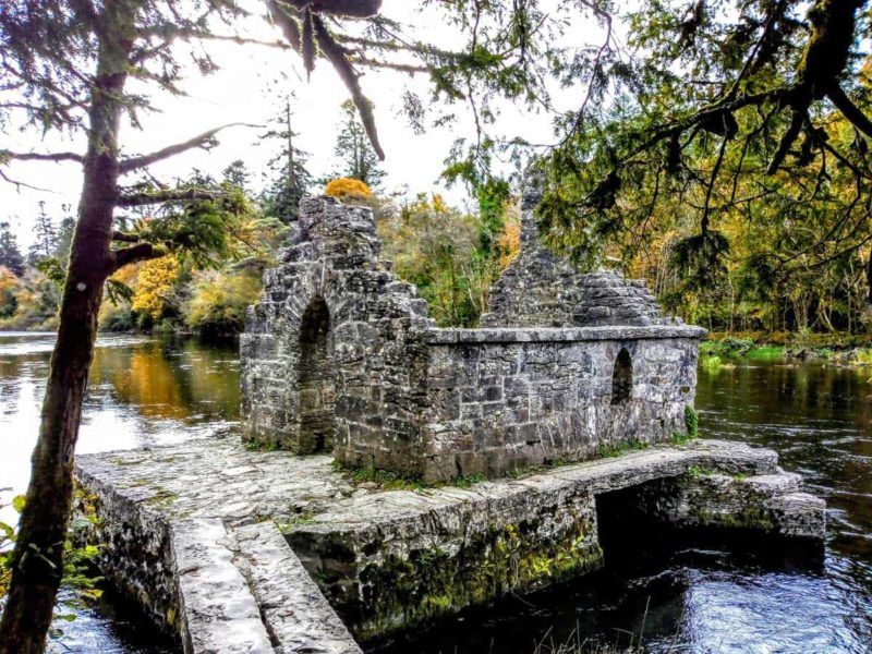 fishermans hut in Cong Mayo Ireland