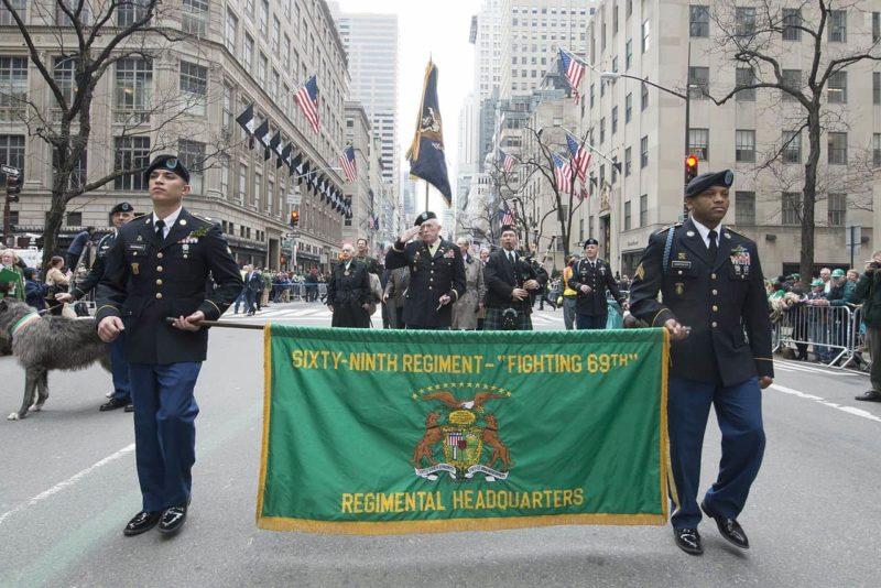celebrating St. Patrick's Day in Dublin the parades in New York