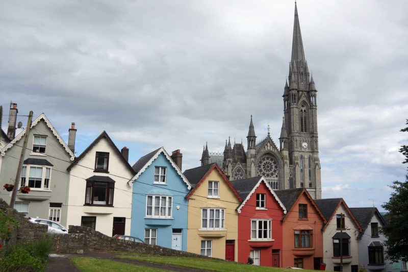 view of Cobh cathedral planning a trip to Ireland