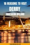 16 of the absolute best things to do when visiting Derry