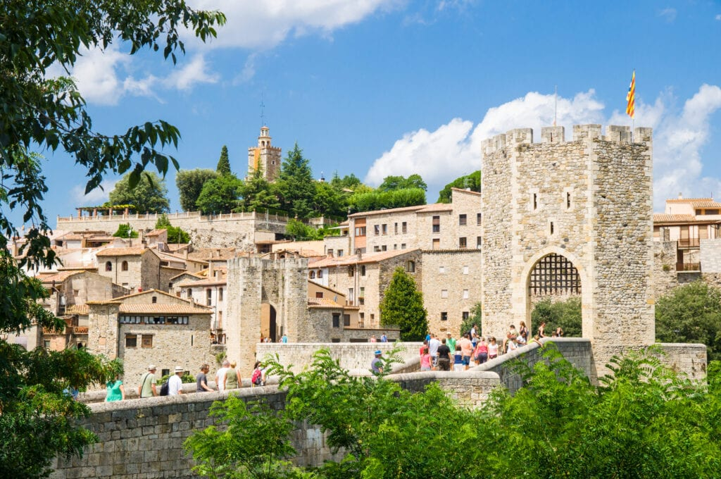 Besalu in Girona, Catalonia, Spain