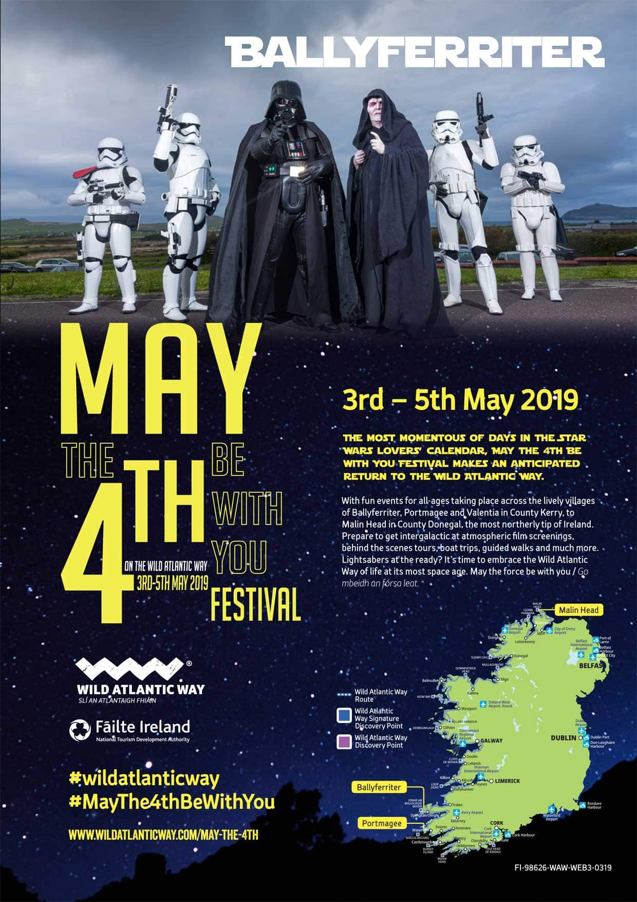 May the 4th be with you - Celebrating all things Star Wars in Ireland