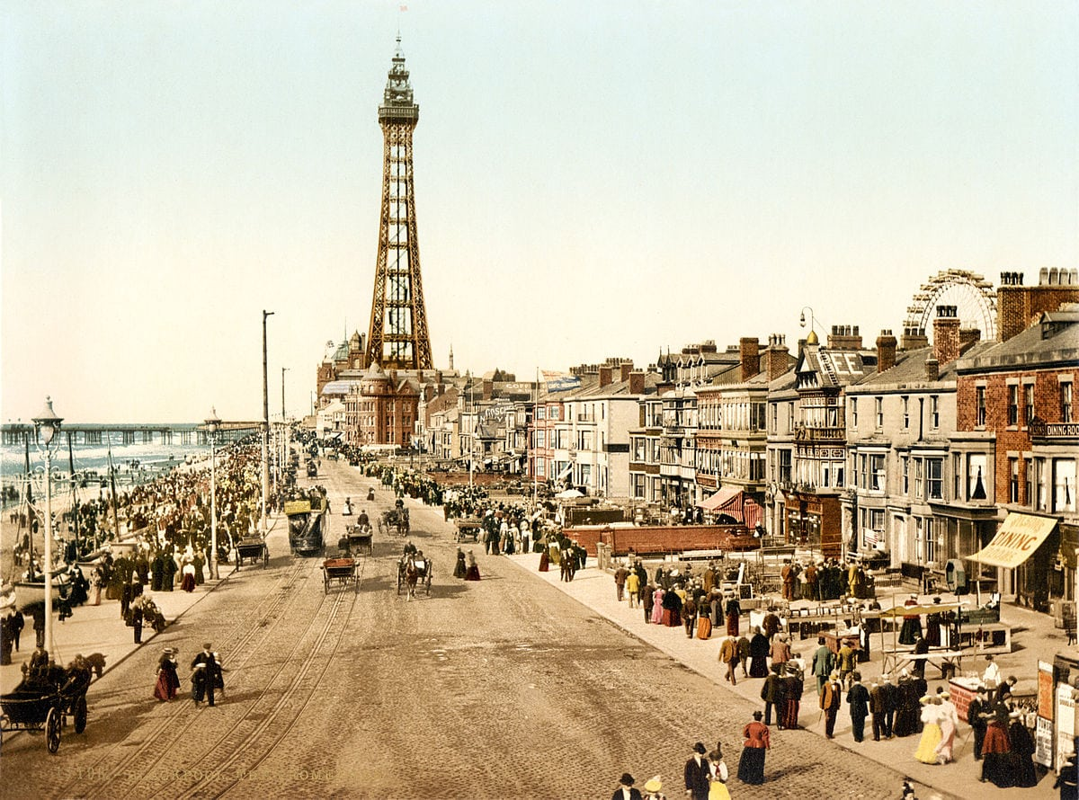 the Promenade when visiting blackpool in the 1800's best things to do in Blackpool