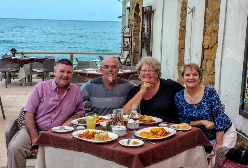 international housesitting, hubs and I plus our friends in Spain